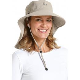 Chapeau cache nuque Coolibar