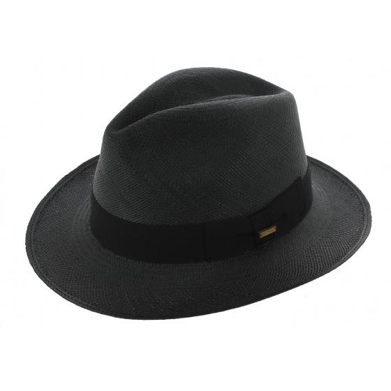 Traveller Gamblino Panama Hat Black - Traclet
