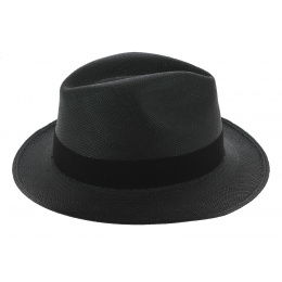 Traveller Gamblino Panama Hat Black - Traclet