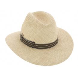 Traveller Gaspard Panama Hat Natural Panama Hat - Pierre Cardin