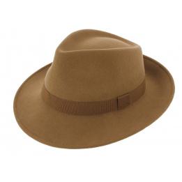 Fedora Felt Hat Wool Lama - Traclet