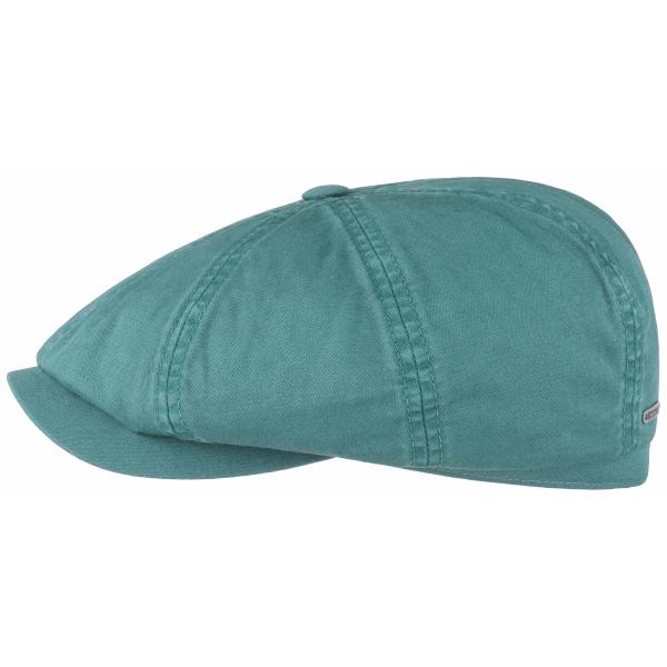 Casquette Hatteras Stetson coton vert