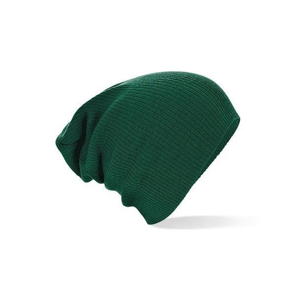 Bonnet Oversize Acrylique Vert - Beechfield