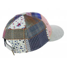 Casquette Baseball San Marin Patchwork Lin - Traclet