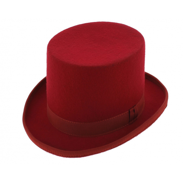 Top hat - Red (hermes)