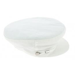 Casquette Marin Été Camaret Coton Blanc - Mtm