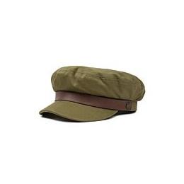 Navy Fiddler Army Cotton Cap - Brixton