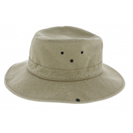 Safari hat Mozambique beige cotton