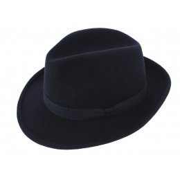 Blues Brothers wide brim