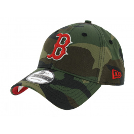 Boston Red Sox Baseball Cap Camouflage - New Era