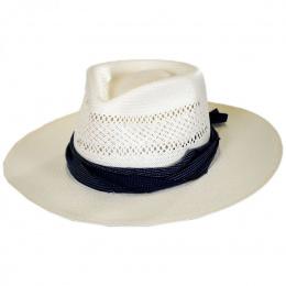 Chapeau Fedora Papier Paille Harvey - Bailey