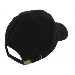 Casquette Baseball Strapback Pray Coton Noir - Kbthos