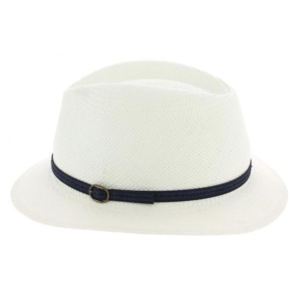 Nouveaux produits qualité de la marque vaste gamme de Chapeau Traveller Panama Blanc - Fléchet