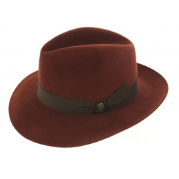 Fedora 1855 Copper Felt Hat - Guerra
