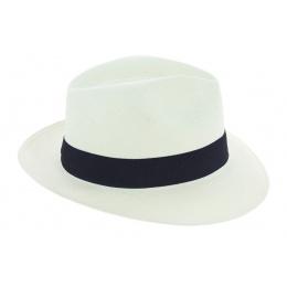 Traveller Hat Cristalino Panama Hat White - Traclet