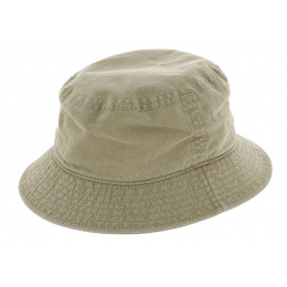 French Made Cotton Bob Beige - Crambes