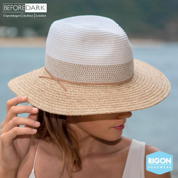 Chapeau Traveller Stripe Mary - Rigon Headwear