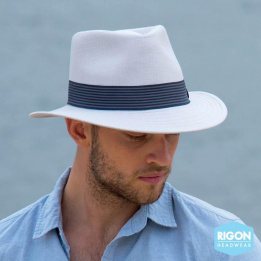 Chapeau Fédora Gentleman Marron - Rigon Headwear