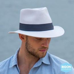 Chapeau Traveller Bermuda Polyester Gris - Rigon Headwear