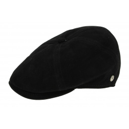 Casquette Arnold Forks Cuir Noir - Traclet
