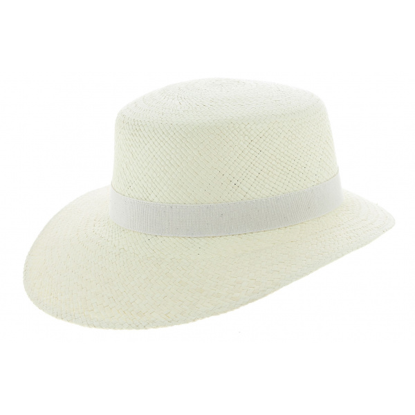 Casquette Guiditta Panama Blanchi Femme - Traclet