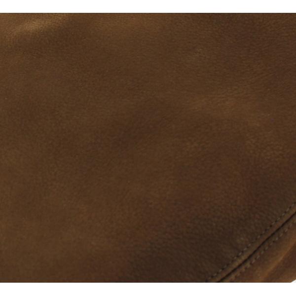Casquette cuir plate caramel