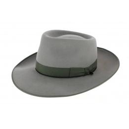 Chapeau Johnny Feutre Poil Gris