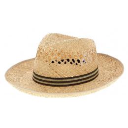 Chapeau Fédora Providenciales Larges Bords Paille - Traclet