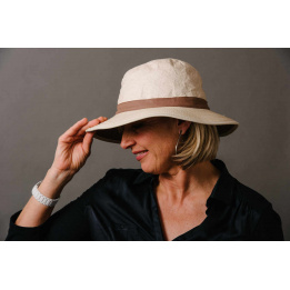 Traveller Hat Savane High Protection Beige- Soway
