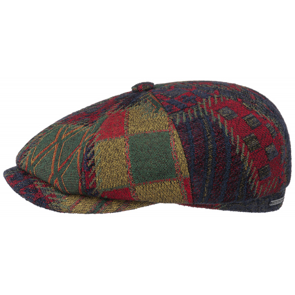 Hatteras Upholstery patchwork cap - STETSON