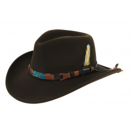 Stetson Kingsley Brown Hat