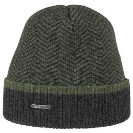 Bonnet Northport Merino Wool Stetson - bleu