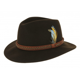 chapeau vitafelt Heath Marron - stetson