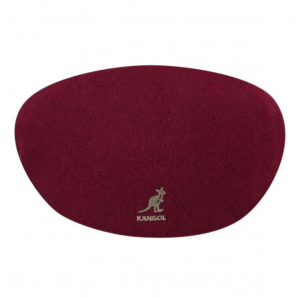 Casquette Kangol Wool 504 Wine