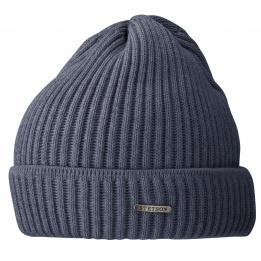Bonnet Stetson - Parkman tricot Bleu