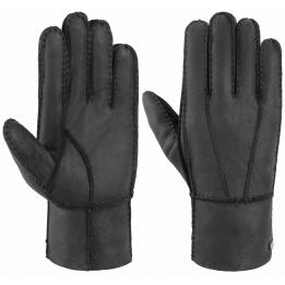 Gant Gloves en cuir Noir - Stetson