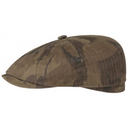 Casquette Hatteras Waxed Camouflage - STETSON