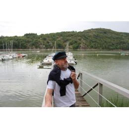 Casquette Marine  Saint Malot Noir Laine - Traclet