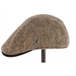 Casquette Plate en Harris Tweed Fingal - City Sport