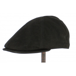 Westport Leather Cap Black - City Sport