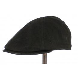 Westport Leather Cap Black - City Sport