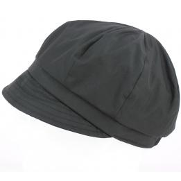 Casquette Helenn de Pluie Noir  - TRACLET