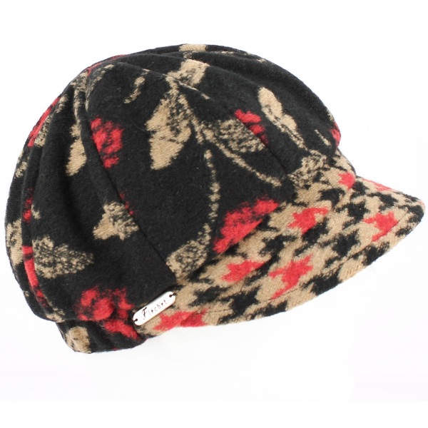 Casquette Gavroche laine - Beige - Traclet