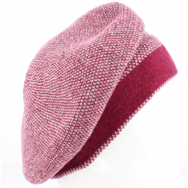 Fuchsia Charline Beret - Arrow