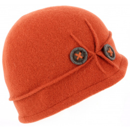 Beret- Bonnet City Laine Orange - TRACLET