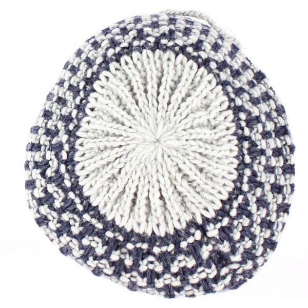 Béret / Bonnet Rosa Bleu/Gris - Traclet