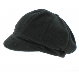 Casquette gavroche Abby  polaire Noir - TRACLET