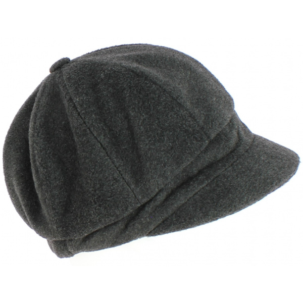 Casquette gavroche Abby polaire Anthracite - TRACLET