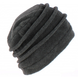 Bonnet Toque Polaire Jacobins Anthracite - TRACLET