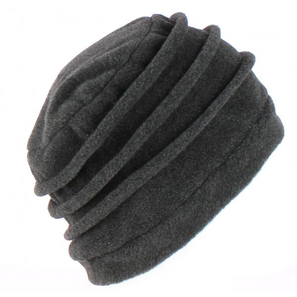 Bonnet Toque Polaire Jacobins Anthracite - TRACLET